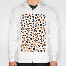 leopard decoration Hoody
