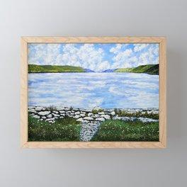 Hemlock Lake Framed Mini Art Print