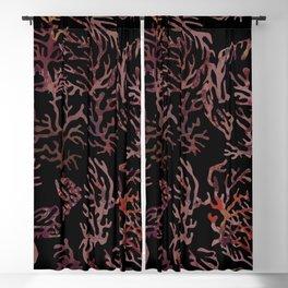 scarlet underwater Blackout Curtain