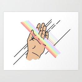Touch Pt. 3 Art Print