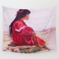 southwest Wall Tapestries featuring Southwest Dreaming by Nancy Smith