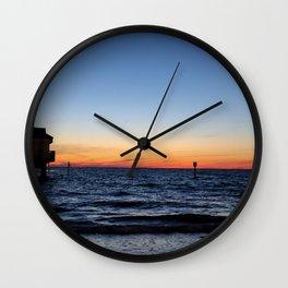 Clearwater Beach- Beach I  Wall Clock