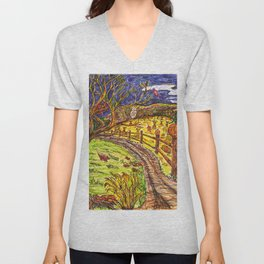 Harvest Moon Unisex V-Neck