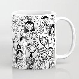 Matrioshka doodle Coffee Mug