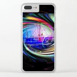 Sea   Romantic Clear iPhone Case