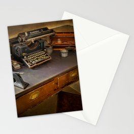 Vintage Writers Corner Stationery Cards