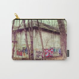 graffiti in the woods Carry-All Pouch