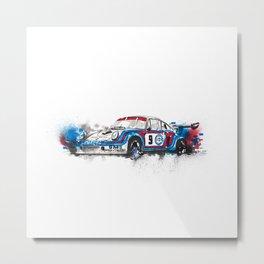 Porsche RSR turbo Metal Print