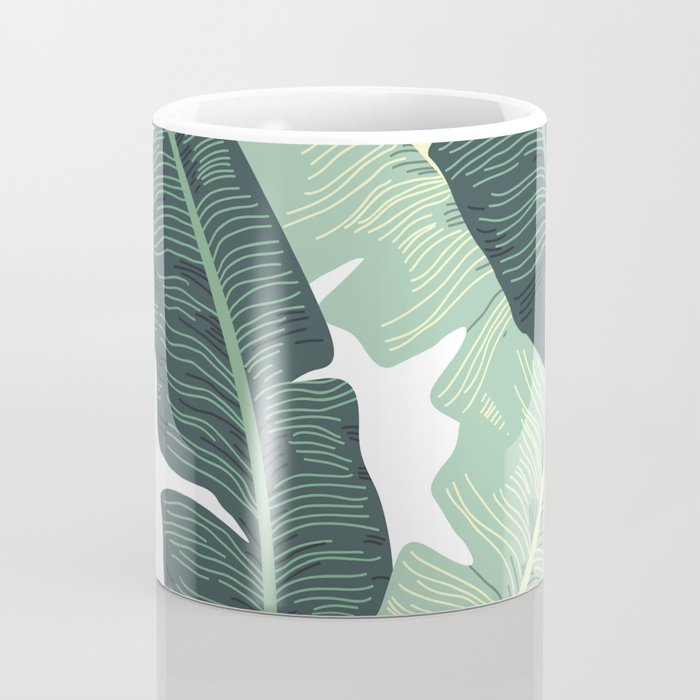 BANANA LEAVES 2 Coffee Mug