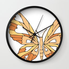 Isabel's Butterfly Wall Clock
