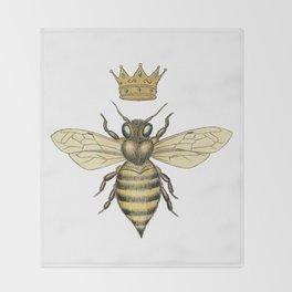 La Abeja Reina Throw Blanket