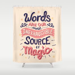 Source of Magic Shower Curtain