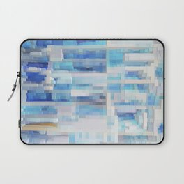 Abstract blue pattern 2 Laptop Sleeve