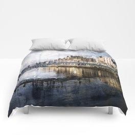 Ha'PPeny Bridge Comforters