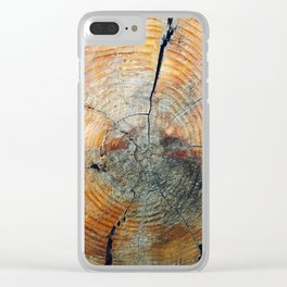 Undiscovered Photography Clear iPhone Case