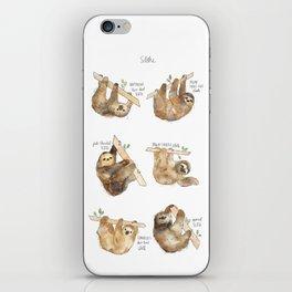 Sloths iPhone Skin