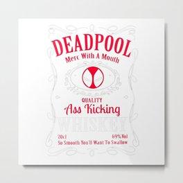 whisky dead pool Metal Print