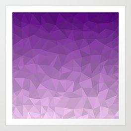 Purple Ombre - Flipped Art Print