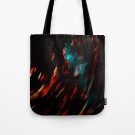Abstract goldfish Tote Bag
