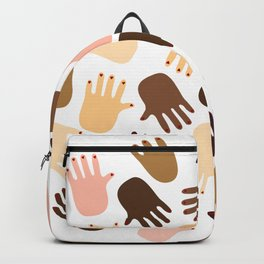 Don't get all handsy Backpack