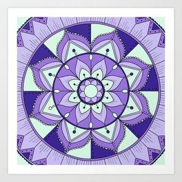 Mandala Maze Art Print