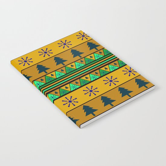 Christmas pattern Notebook