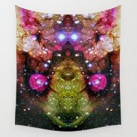 interstellar Wall Tapestries featuring Interstellar by Mark Kriegh
