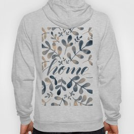 Watercolor home foliage – neutral Hoody