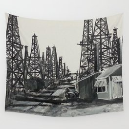 Boom Town Wall Tapestry