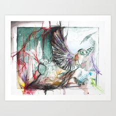 Bird Version II Art Print