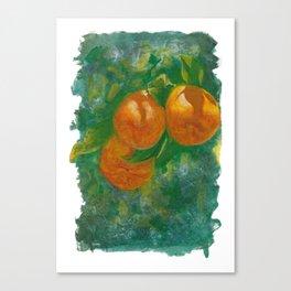 Summer Oranges Canvas Print