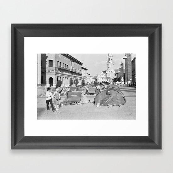 Nuestra Señora del Pilar Framed Art Print
