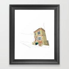 Mike's House Framed Art Print
