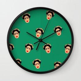 Frida Frenzy Wall Clock