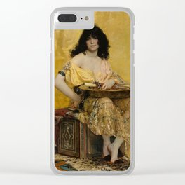 Salome by Henri Regnault, 1870 Clear iPhone Case