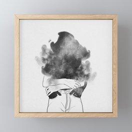 Into my soul. Framed Mini Art Print