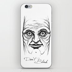 Don't Blink iPhone Skin