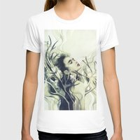 stag T-shirts featuring Stag by Anna Dittmann