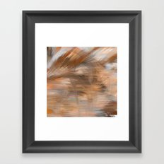 Fragment 13: Storm in the Sea of Earth Framed Art Print