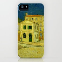 Vincent Van Gogh - The Yellow House iPhone Case