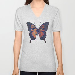 Butterfly Variation 06 Unisex V-Neck
