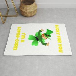 St Patrick's Day Lucky Leprechaun or Leprecorn Rug