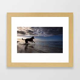 The Goal Is Within Reach. Framed Art Print
