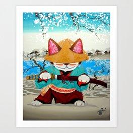 Samurai Friday Art Print