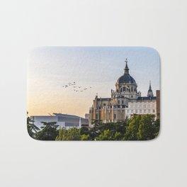 Almudena cathedral of Madrid Bath Mat