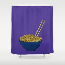 Noodle Bowl Shower Curtain