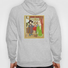 Arnolfini Portrait by Jan Van Eyck Hoody