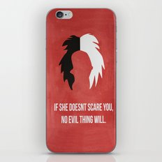 Disney Villain - Cruella De Vil iPhone & iPod Skin