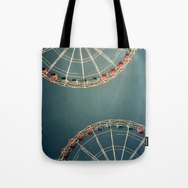 Anything back to the same place Tote Bag