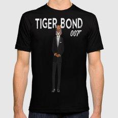 Tiger Bond Black MEDIUM Mens Fitted Tee